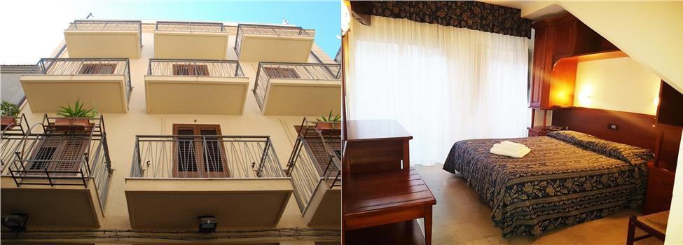 Hotel La Giara, Cefalu, Sicilien, Italien