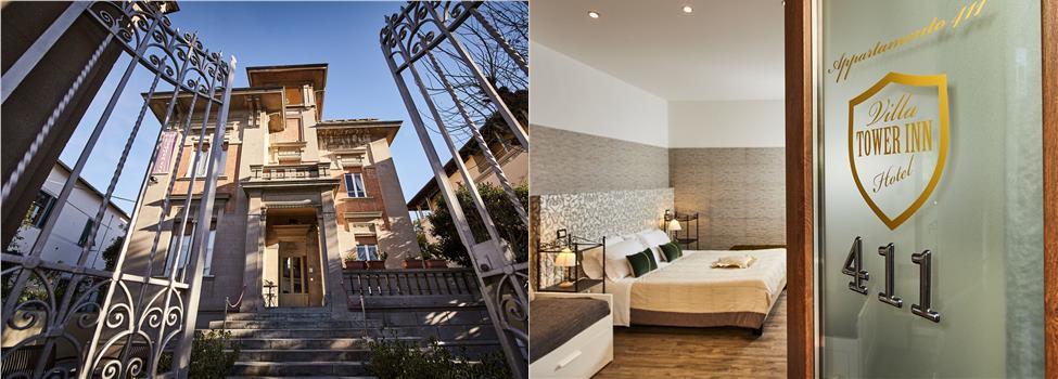 Villa Tower Inn, Pisa, Toscana, Italien