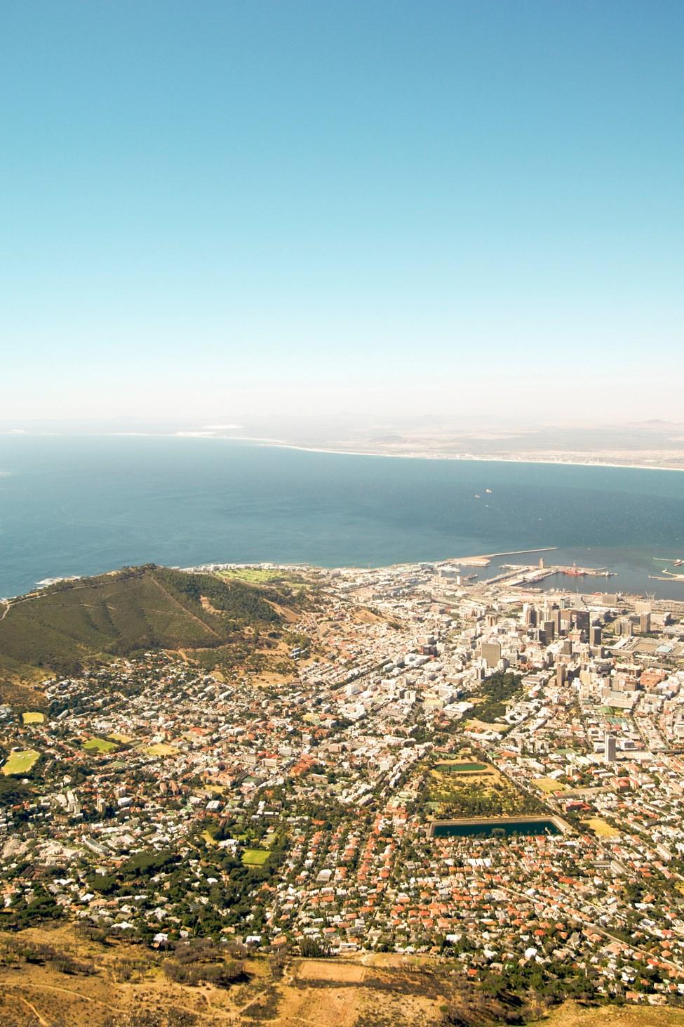 Table Mountain, Kapstaden, Sydafrika