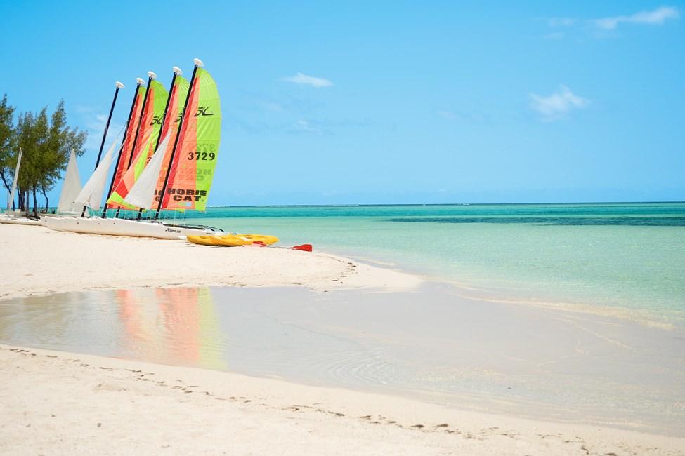 Stranden vid Paradis Hotel, Mauritius