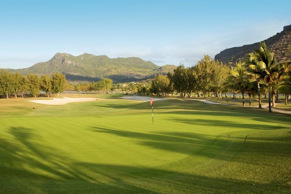 Golfbanan vid Paradis Hotel, Mauritius
