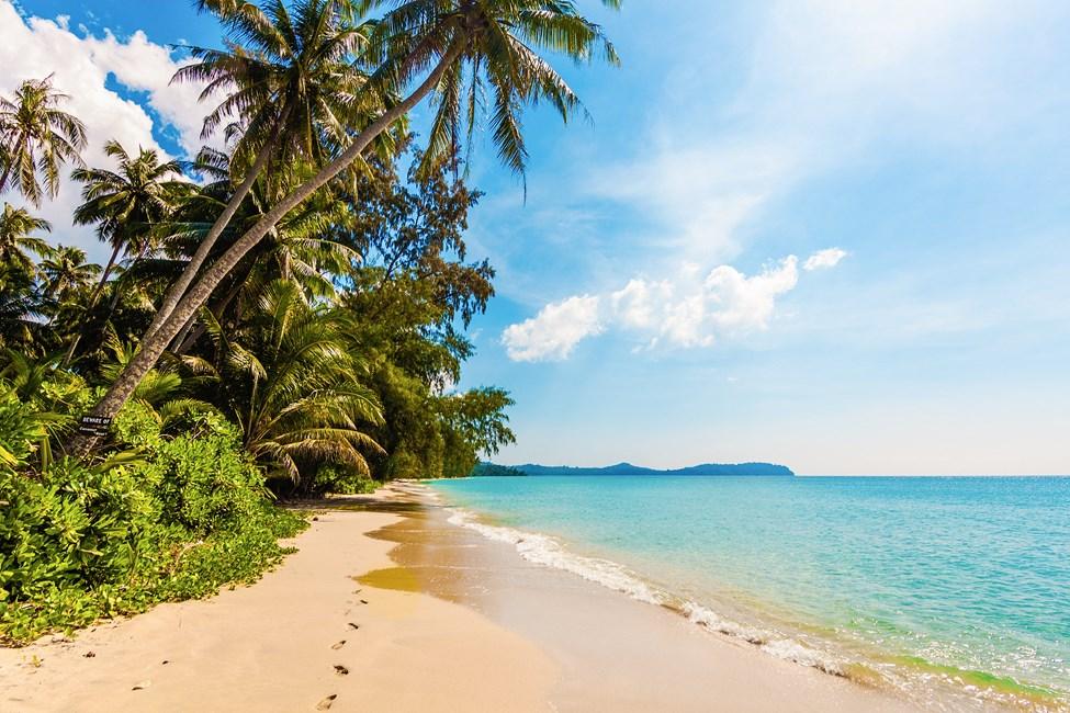 Ön Mahe på Seychellerna