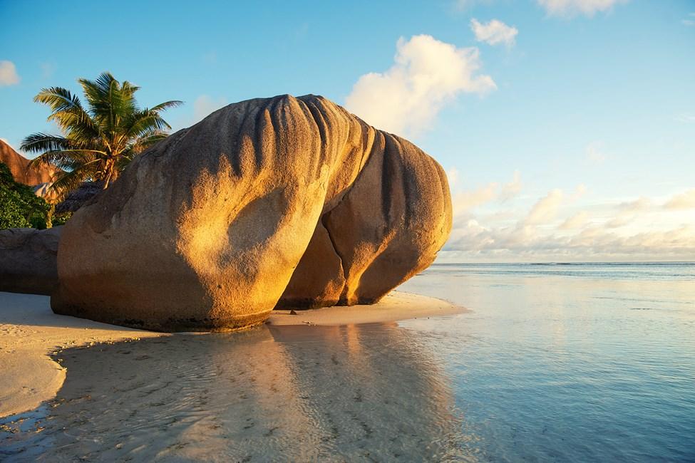 Ön La Digue, Seychellerna