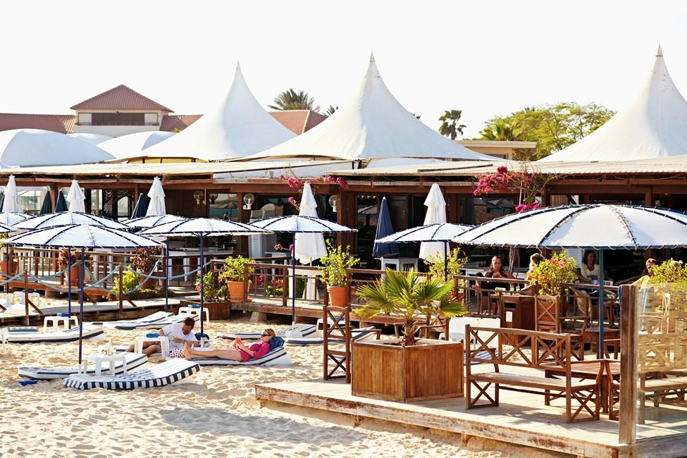 Morabeza beach bar, Santa Maria, Kap Verde