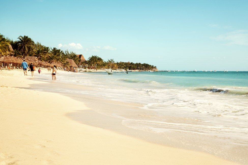 Playa del Carmen i Mexiko