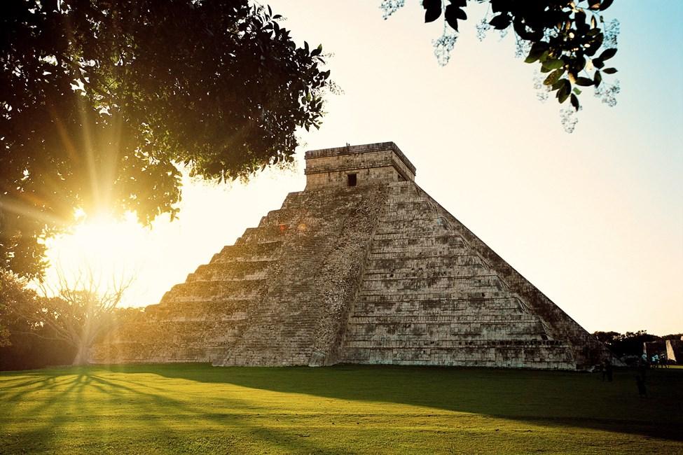 Chichen Itza, rundresa i Mexiko