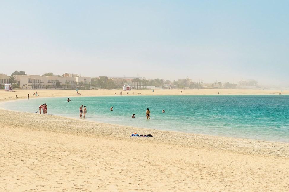 Allmänna stranden i Jumeirah Beach