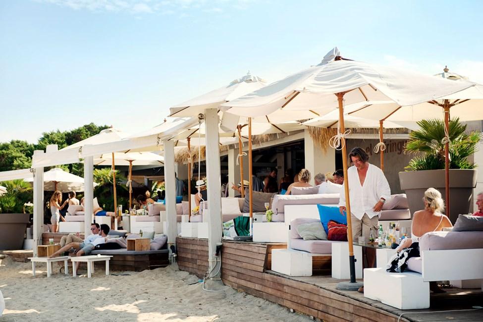 Playa des Cavallet. I närheten av Ibiza stad.