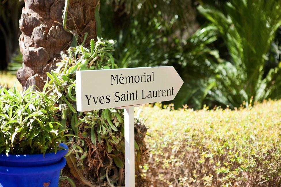 Den botaniska trädgården Jardin Majorelle