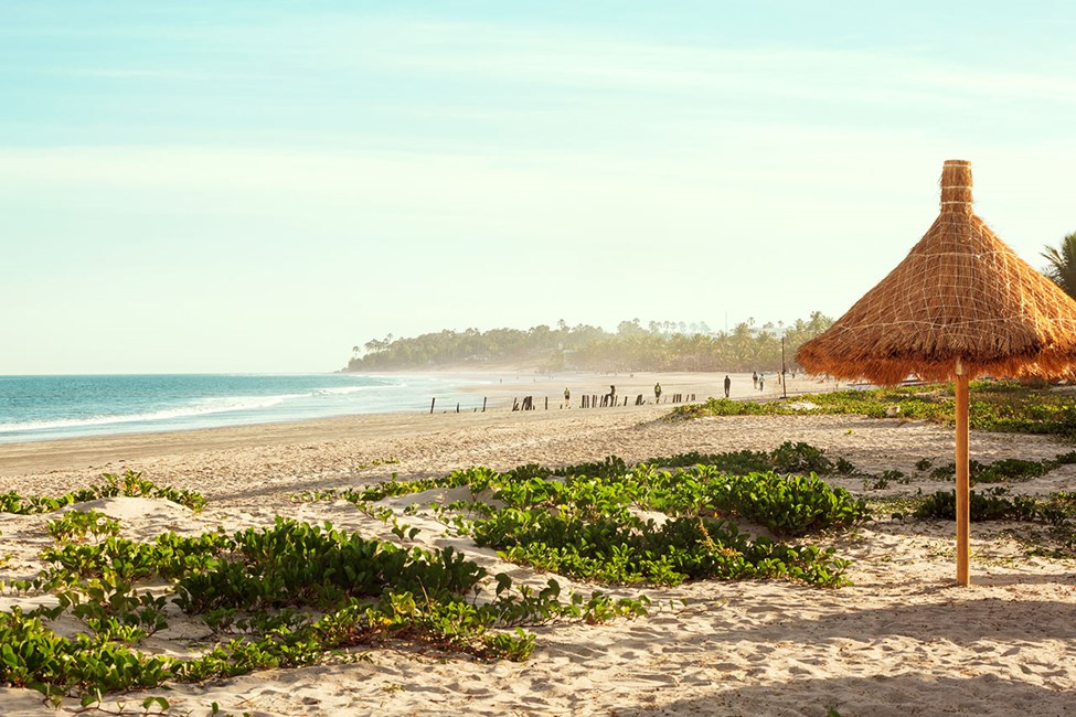 Stranden utanför Sunprime Tamala