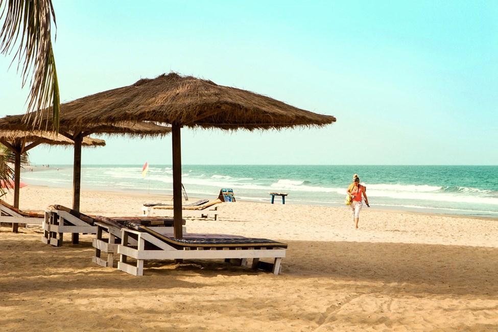 Stranden utanför Palma Rima