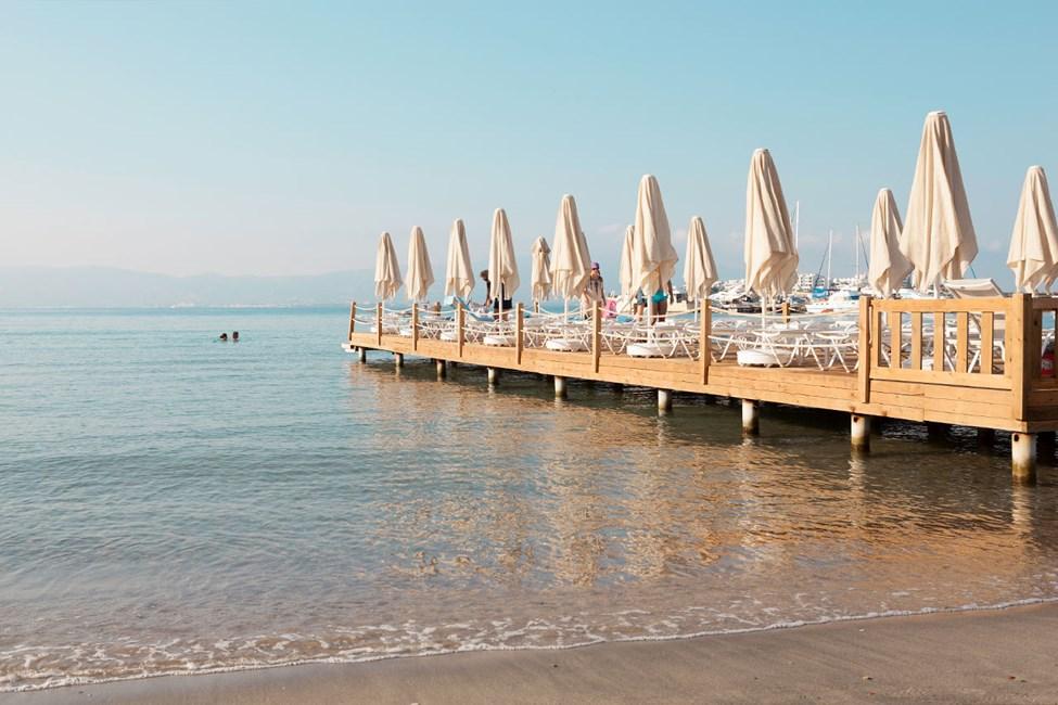 Stranden i Akyarlar