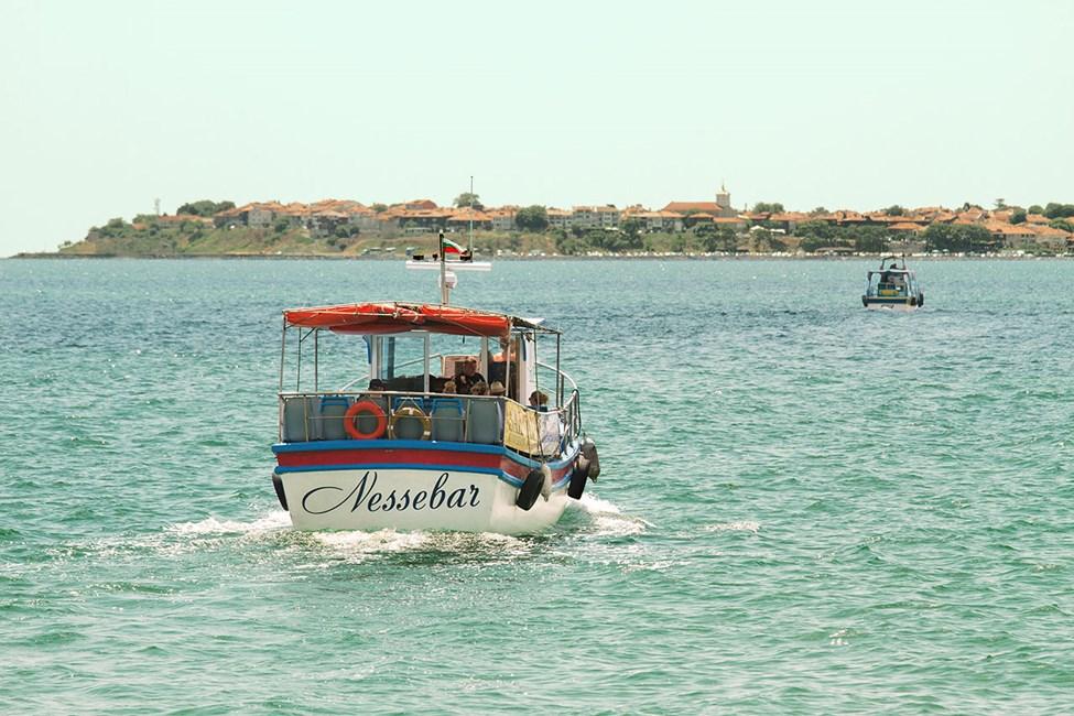 Båttur mellan Sunny Beach och Nessebar