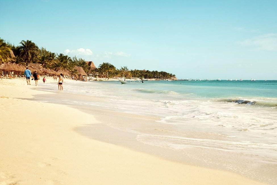 Playa del Carmen kan skryta med fantastiska korallstränder