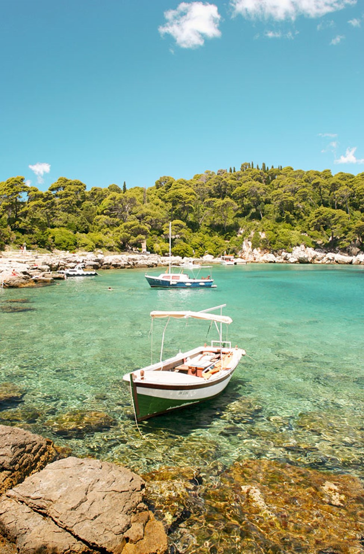 Båttur till ön Lokrum från Dubrovnik