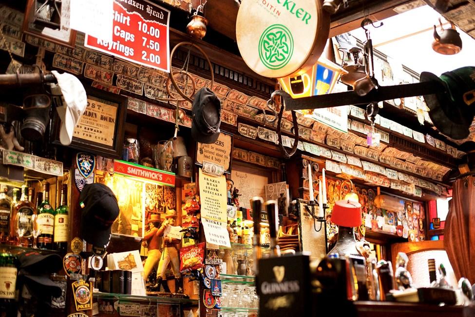 The Brazen Head - Irlands äldsta pub från 1198