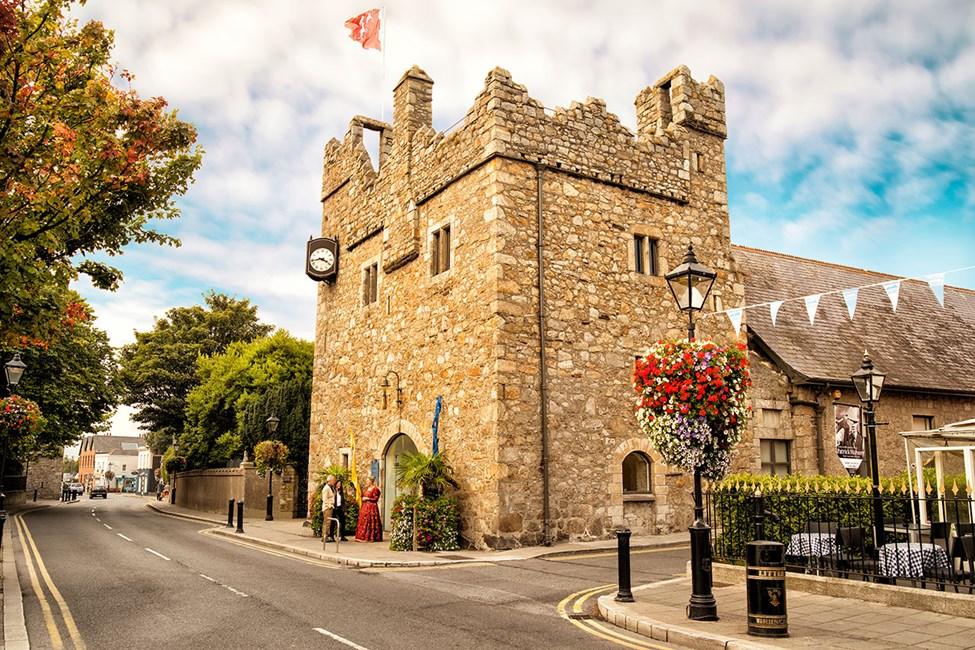 Historiska Dalkey slott och Heritage Center