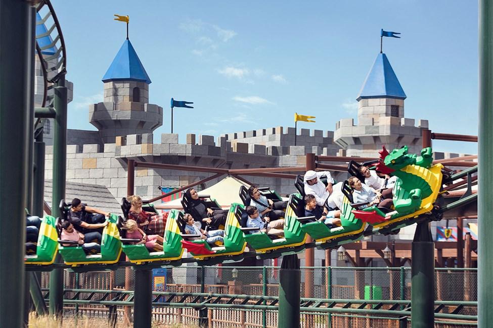 Dragon Coaster, LEGOLAND® Dubai