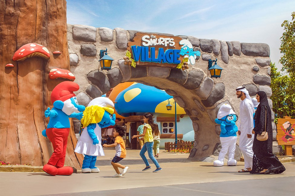 Smurfs Village i MOTIONGATE™