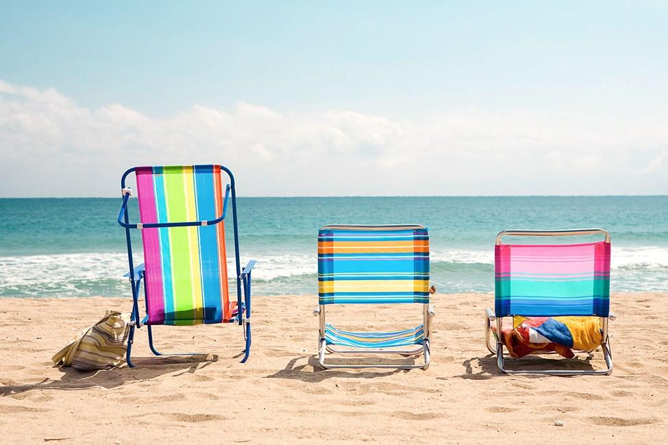 Avkopplande strandliv i Lauderdale by the Sea