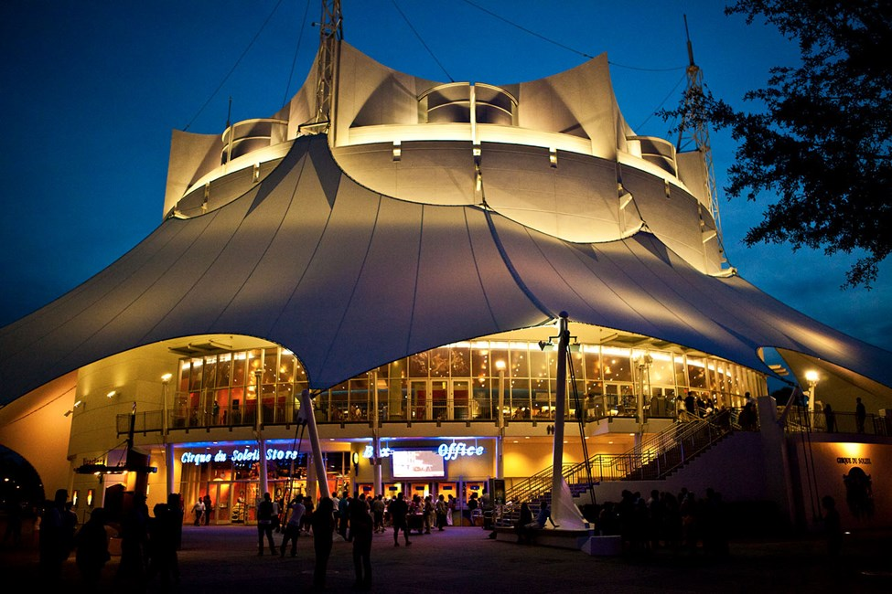 Cirque de Soleil, Downtown Disney