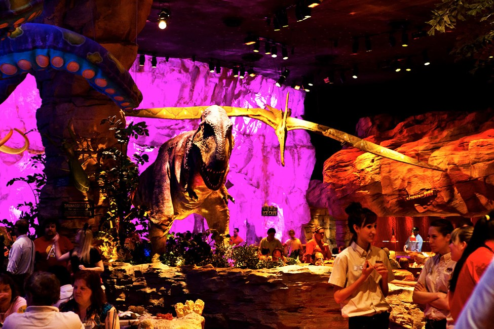 T-Rex Cafe, Downtown Disney