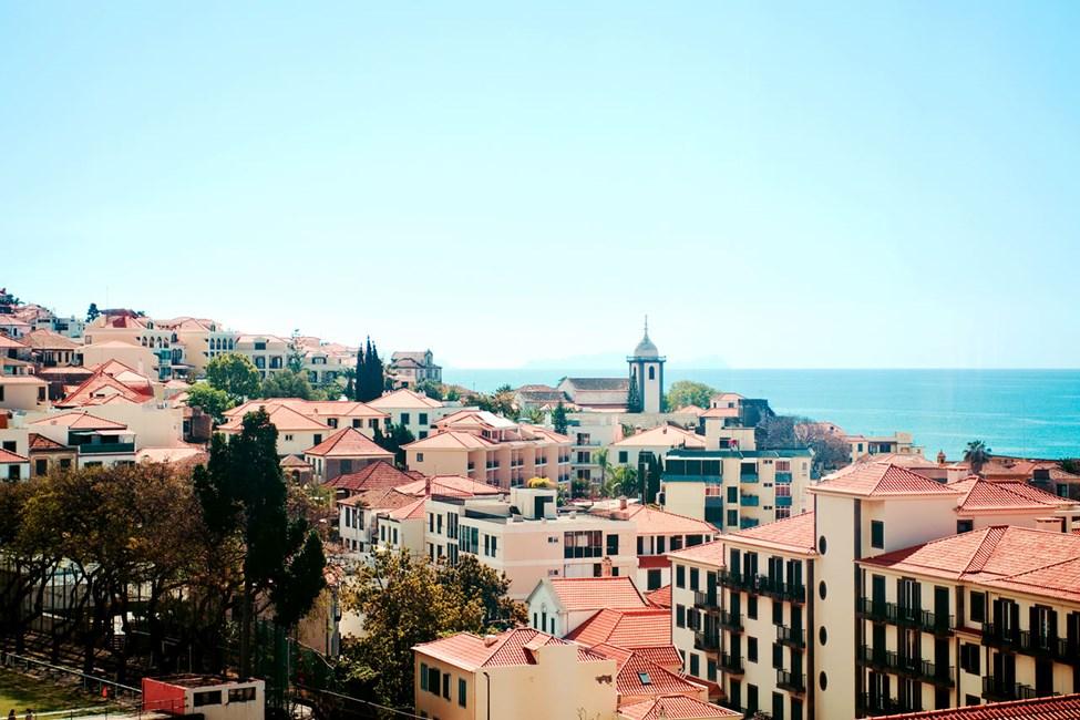 Östra delarna av Funchal