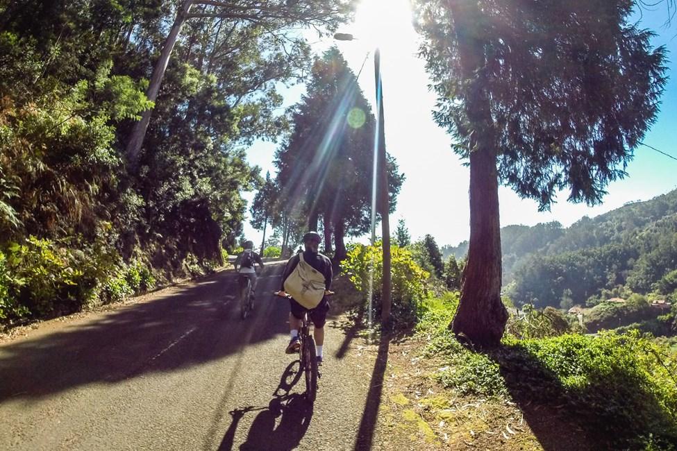 Cykeltur på Madeira