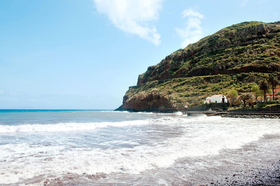 På Madeiras östkust ligger den lilla orten Machico.
