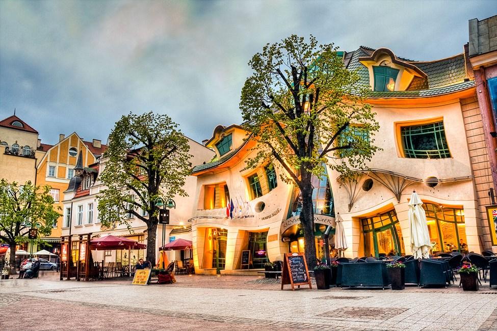 Huset Krzywy Domek