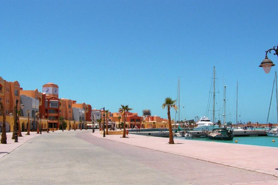 I New Marina ligger flera bra restauranger och barer