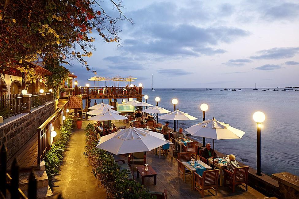 Restaurangen Farolin på hotell Odjo d'Agua