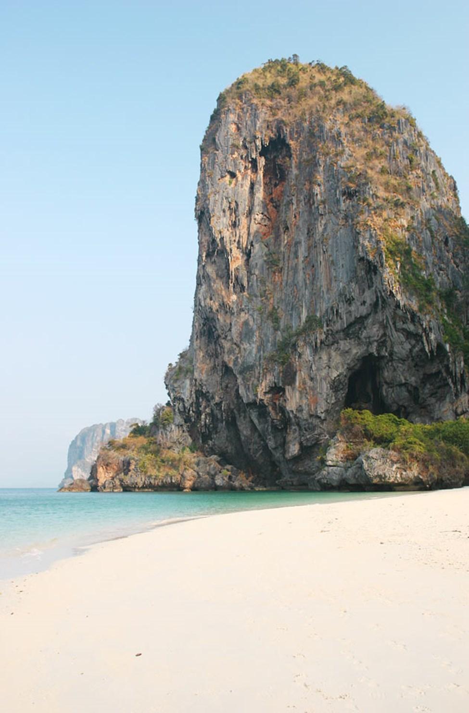 Phra Nang Beach, nära Railay Beach