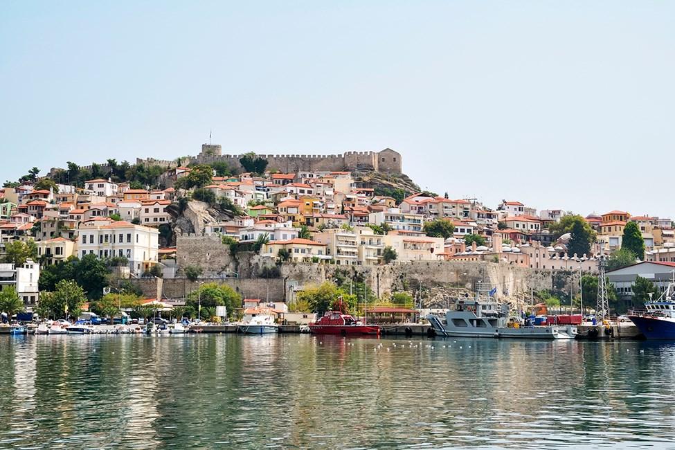 Panagia - Gamla stan i Kavala