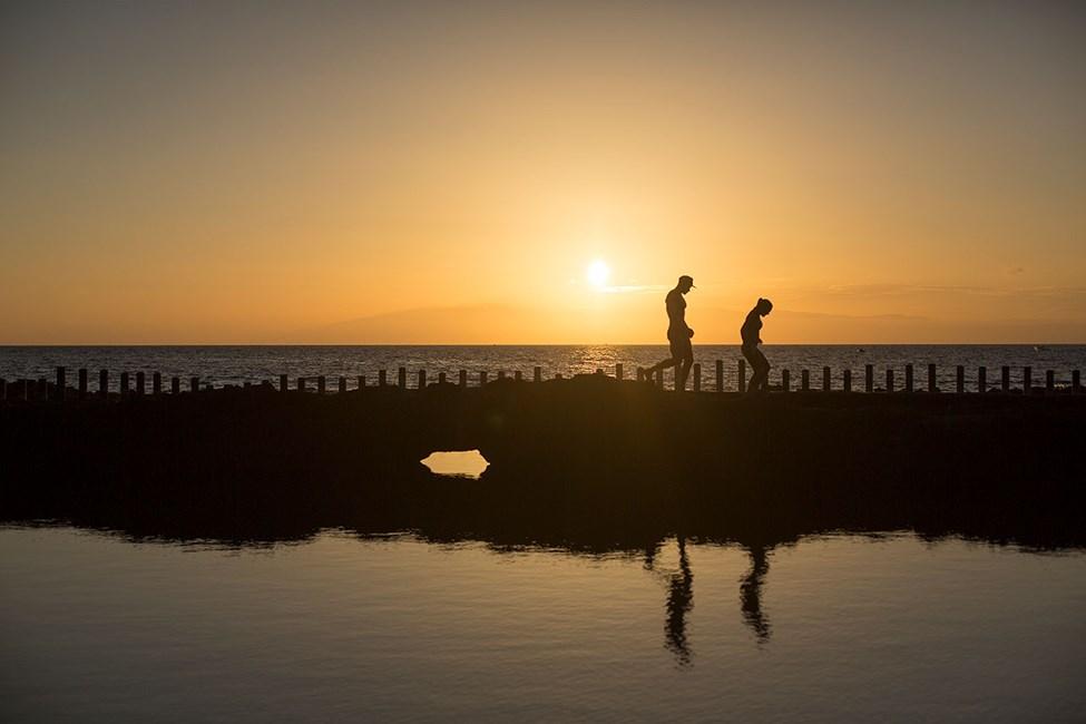 Havsbassängerna, Las Salinas, utanför Puerto de las Nieves