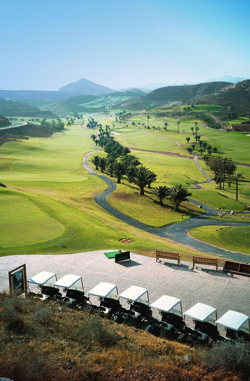 Golfbanan i Anfi, ca 10-15 minuters bilfärd från Sunwing Arguineguín.