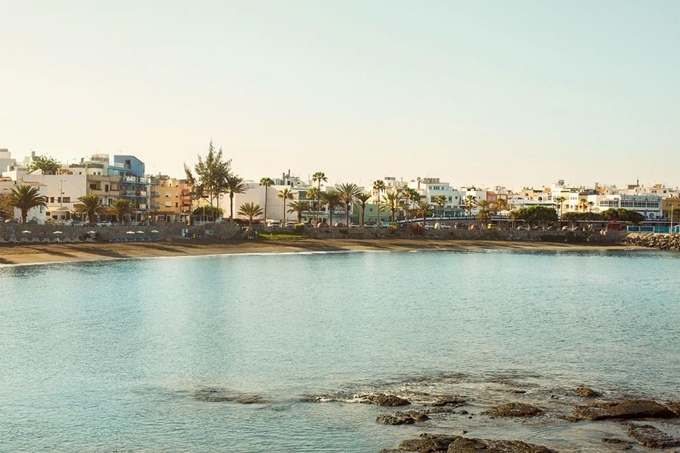 Stranden Playa de las Maranuelas