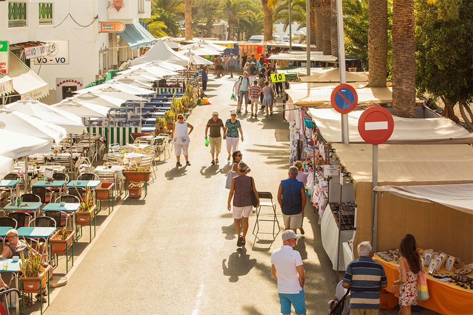 Varje tisdag är det marknad i Arguineguín