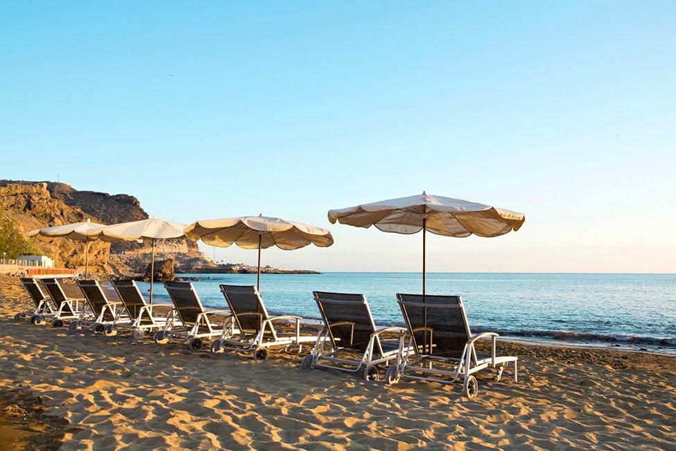 Stranden vid Ocean Beach Club