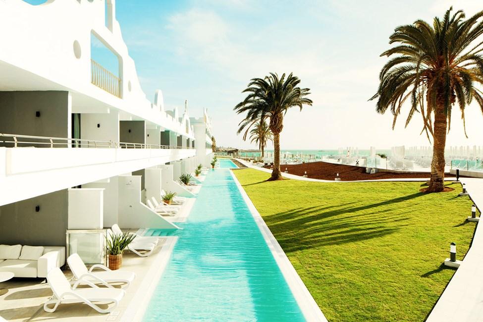 Från en balkong på Ocean Beach Club - Gran Canaria