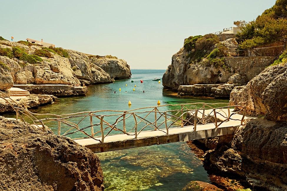 Cala'n Forcat, ca 3 kilometer utanför Ciutadella