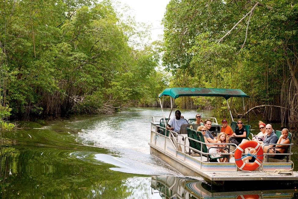 Black River – ett populärt utflyktsmål från Montego Bay