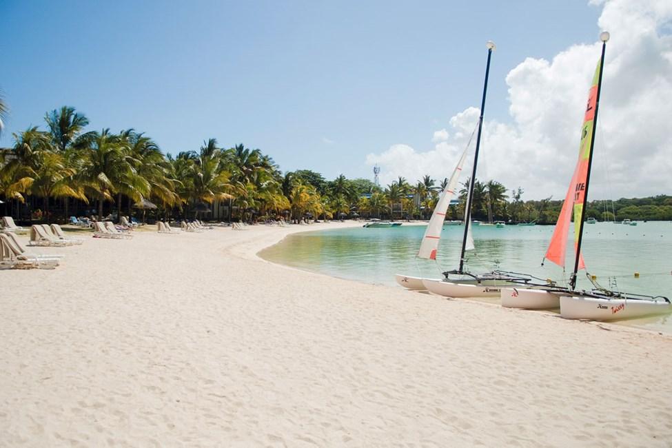 Stranden vid Shandrani Resort & Spa