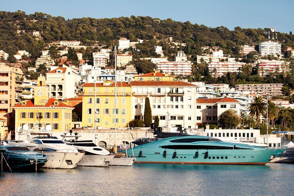 Gamla hamnen i Nice