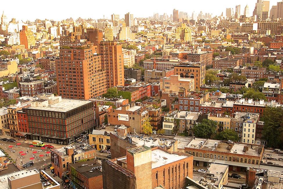 New Yorks läckra omgivningar