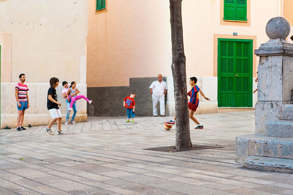 Gamla stan i Alcudia