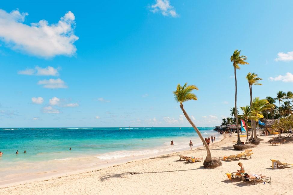 Stranden vid resorten Grand Bahia Principe