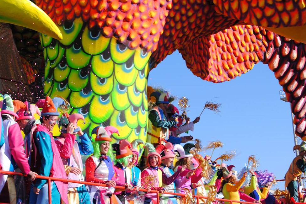 Den berömda karnevalen går av stapeln i februari varje år