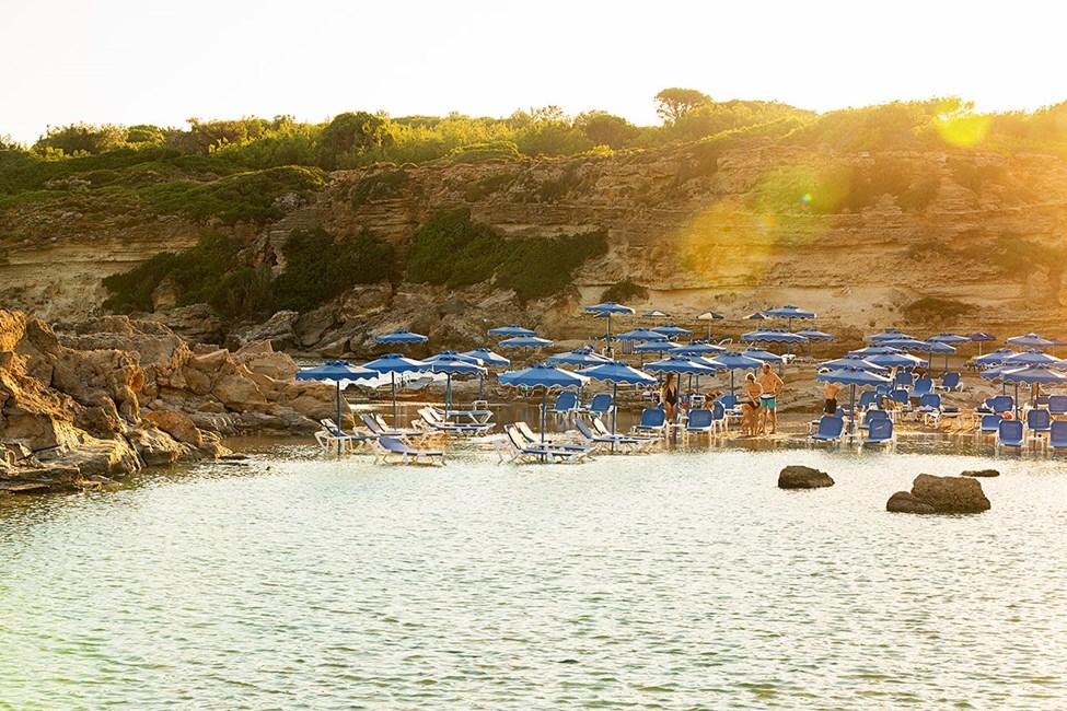 Tassos Beach, ca 4,5 km från Kallithea