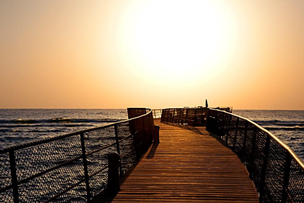 Utsikt över Röda havet